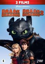 DVD cover van Hoe tem je een Draak 1 & 2