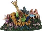 Efteling - Oberon met elfjes Luville miniaturen