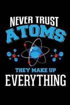 Never Trust Atoms They Make Up Everything