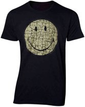 Smiley - Cracked Smiley - Men s T-shirt
