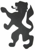Foam Stickers Leeuw Holland