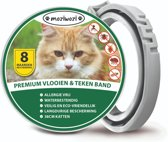 Vlooienband/Tekenband Kat Incl. Vlooienkam - Vlooienbestrijding - 8 Maanden bescherming