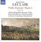 Leclair: Violin Sonatas Book 1, 5-8