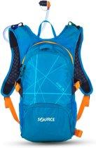 Source Rugzak - Unisex - blauw/oranje