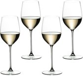Riedel Veritas Viognier/Chardonnay Wijnglas, 4 stuks
