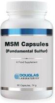 Douglas laboratoriesMSM Capsules grondrechten zwavel - 90 capsules - Voedingssupplement