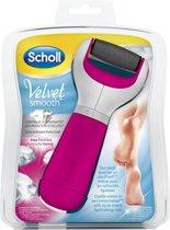 Scholl Velvet Soft Elektronische Voetvijl - Eeltverwijderaar Roze