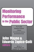 Monitoring Performance in the Public Sector