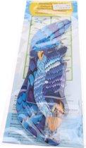 Moses Werpvogel 20 Cm Blauw 7