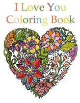 I Love You Coloring Book