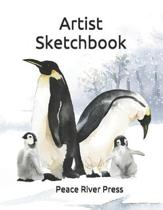 Artist Sketch Book: 8.5'' X 11'', Artist Sketchbook - Workbook - Journal - Notebook: 125 Pages For Sketching, Drawing, Doodling, And Paintin