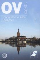 Topografische provincie atlassen - Topografische atlas van Overijssel schaal 1:25.000