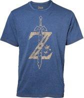 Zelda - Faux Denim T-shirt - XL