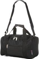 5Cities Weekendtas/Sporttas (maximale handbagage bij luchtvaartmaatschappijen) Zwart 14L