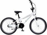 Bike Fun Cross Tornado - Kinderfiets - Jongens en meisjes - Wit - 20 Inch