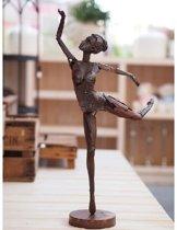 Metalen Sculptuur Danseres