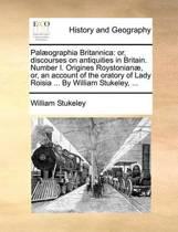 Palaeographia Britannica