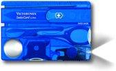 Victorinox SwissCard Lite 13 Functies - Transparant Blauw