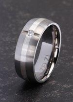 ZELZI Titanium ring: Aspasia 19 millimeter