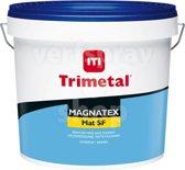 TRIMETAL Magnatex Muurverf Mat SF - standaard wit (001) - 10 liter