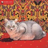 Ivory Cats - Mini Wall calendar 2020 (Art Calendar)