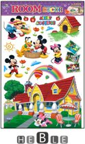 Mickey mouse - minnie mouse - and friends - clubhouse - kinderkamer - babykamer - muurstickers - heble