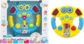 Speelgoed Stuurtje Baby | Mijn eerste stuur met geluid en licht 16 cm