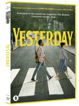 DVD cover van YESTERDAY