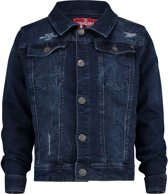 Vingino Meisjes Denim Jacket - Deep Dark - Maat 104
