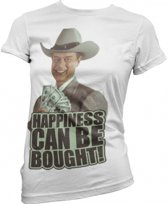Dallas dames shirt Happiness L