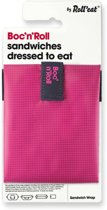 Roll'Eat Boc'n'Roll Foodwrap - Square Pink