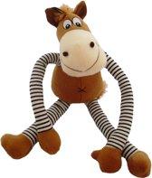 Yap Pull My Leg Pluche Paard Hondenspeelgoed - 44 x 36 x 9.5 cm