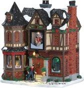 Lemax Kerstdorp Scrooge's Manor - met verlichting - 4.5V adapter
