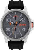 Boss Orange - HO1550007 - Detroit - Horloge - Rubber - 48mm - Grijs