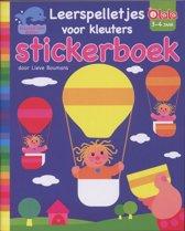 Leerspelletjes kleuters stickerboek / 3-4 jaar