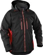 Bläkläder functionele winterjas - Zwart/Rood