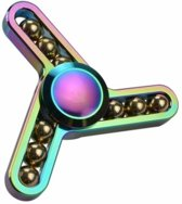 Fidget Spinner - Metal oil beads - hand spiner - olie metaal - incl. opbergtas