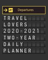 Travel Lovers 2020 - 2021 Two Year Daily Planner