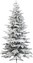 Everlands Led Alaskan Fir Snowy kunstkerstboom 150 cm - zonder verlichting