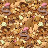 Pepernoten - Sinterklaaspapier - Inpakpapier - Cadeaupapier - 200 x 70 cm - 5 rollen