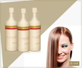Ghair G.Hair lissage Brésilien 3x1000ml SET Traitement de la kératine