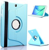 Samsung Galaxy Tab A 9.7 inch Hoes Cover 360 graden draaibare Case licht blauw