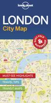 Lonely Planet: City Map London (1st Ed)