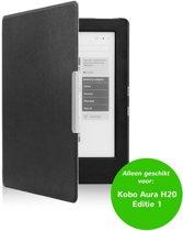 Smart magnetische flip hoes Kobo Aura H20 Editie 1 zwart