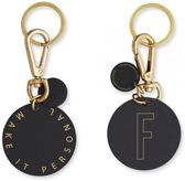 Personal Key Ring En Bag Tag - F