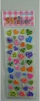 fancy stickers harten per 4 pakjes
