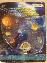 ons zonnenstelsel in 9  mini figuren