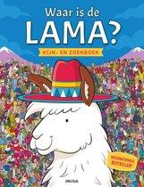 Waar is de Lama? Kijk-en zoekboek
