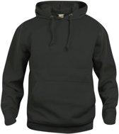 Basic hoody zwart 5xl