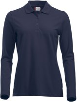 Clique New Classic Marion L/S Donker Navy maat S